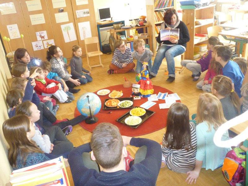 Partnerklasse im Kindergarten